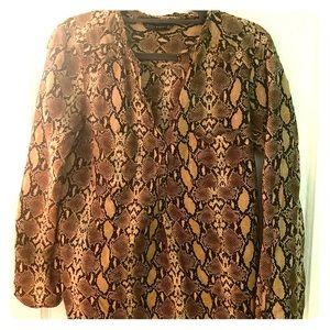 Zara Woman - Snake Print Blouse